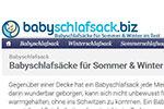 babyschlafsack.biz - alles zum Thema Schlafsäcke für Babys