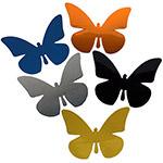 Schmetterlinge aus bunter Reflexfolie