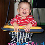 Bild vom Baby Türhopser