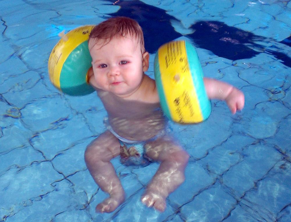 Baby Schwimmhilfe Kraulquappen Testbericht