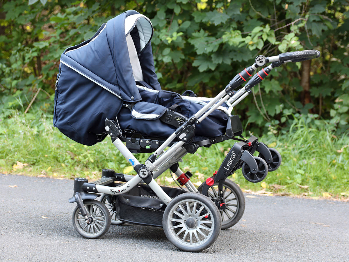 Buggy-Board am Hartan Kinderwagen
