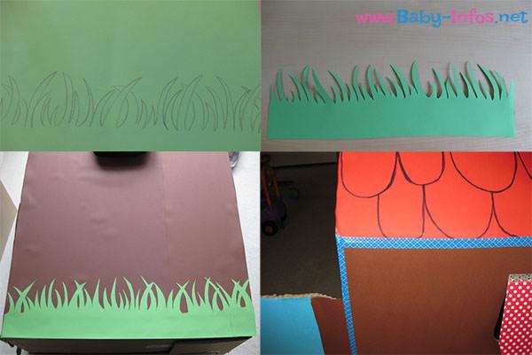 Kinder Spielhaus Basteln Aus Pappe Anleitung Mit Bildern